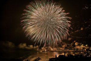 Fuochi d'artificio a Portovenere