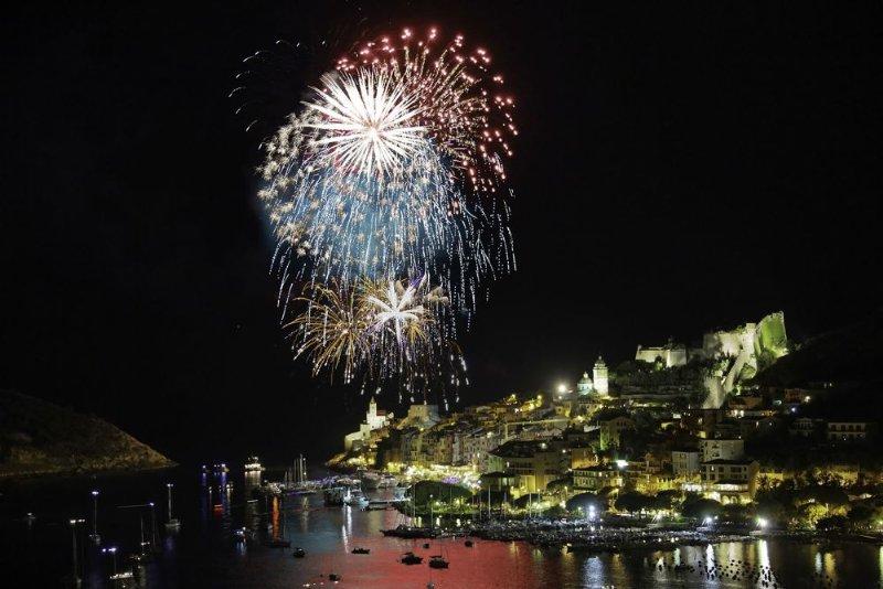 fuochi d'artificio di portovenere